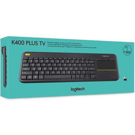 Teclado Logitech Wireless Touch Pad K400 Preto