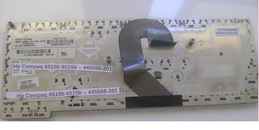 Teclado Notebook Compaq 6510b [446]