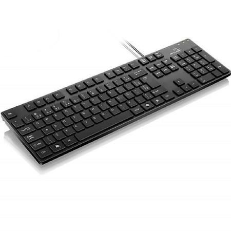 Teclado Usb Basico Chocolate Tc142