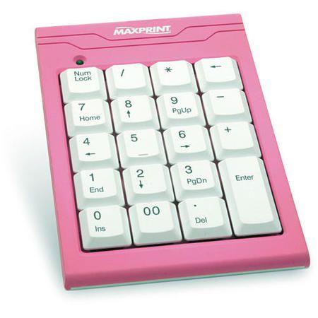 Teclado Usb Numerico Notebook Rosa Ref 60 5199