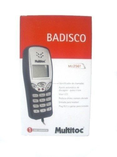 Telefone Badisco Digital C/ Identificador Multitoc Mu256t Mubd0256
