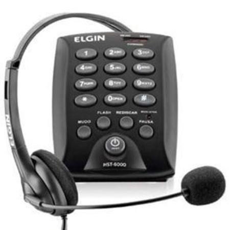 Telefone C/Fio Headset Hst-6000