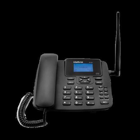 Telefone Celular Fixo GSM Dual Chip Cf 4202