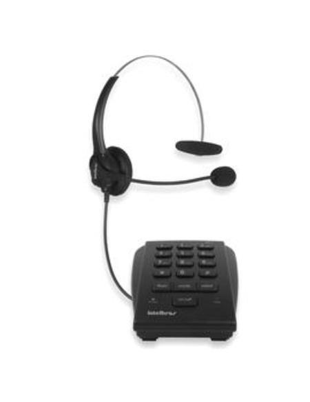 Telefone Headset Multitoc Preto Ichs0020