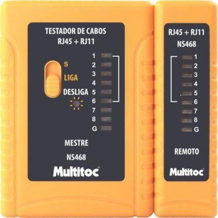 Testador De Cabos De Rede Rj11/Rj45 Ns-468 Mutc0011