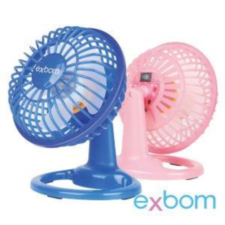 Ventilador De Mesa Exbom Mini Usb -Colorido - Win-7