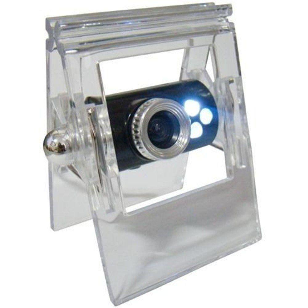 Webcam 1000 K Pixel Cristal Preto C1039 - Classe