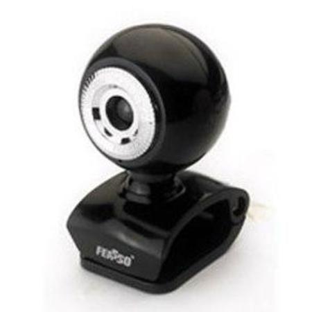 Webcam 1.3m Feasso Faweb117 Preto