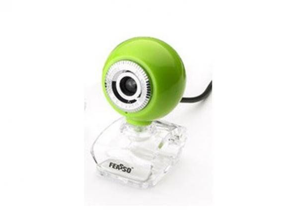 Webcam 1.3m Feasso Faweb117 Verde