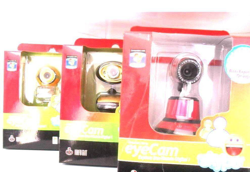 Webcam Infokit 16.0m C/ Mic. N-100mv C/ Mic - Mod. Et