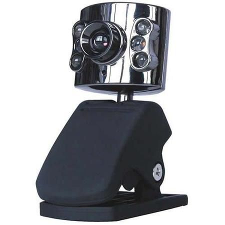 Webcam Metal C/ 6 Led Be002 Classe C1037