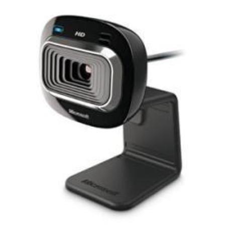 Webcam Microsoft T3h-00011 Lifecam Hd-3000 Win Usb Port.
