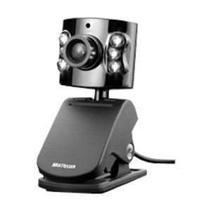 Webcam Multilaser 1.3mp C/ Microfone Wc040