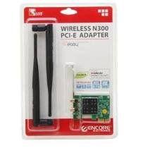 Wireless Adaptador Mini Pci Exp. Encore Enewi-2xn42 300mbps Antena 2dbi