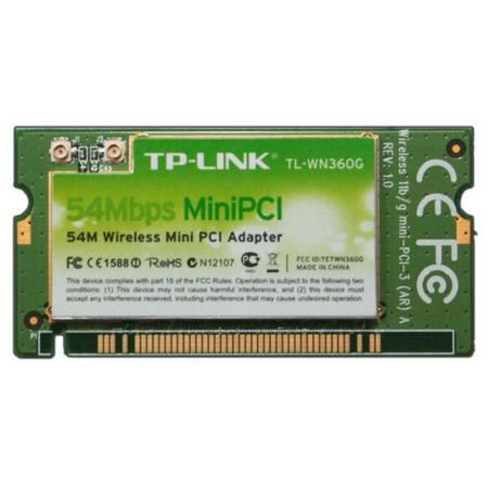 Wireless Adaptador Mini Pci Tp-Link Tl-Wn360g Ufl