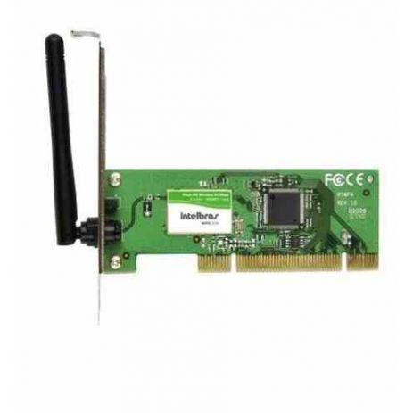 Wireless Adaptador Pci Intelbras Wpg200 54mbps (Vem Com Opcao Perfil Baixo)
