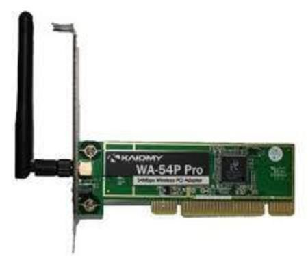 Wireless Adaptador Pci Kaiomy Wa-54pp 54mbps (Ralink Edimax)*.