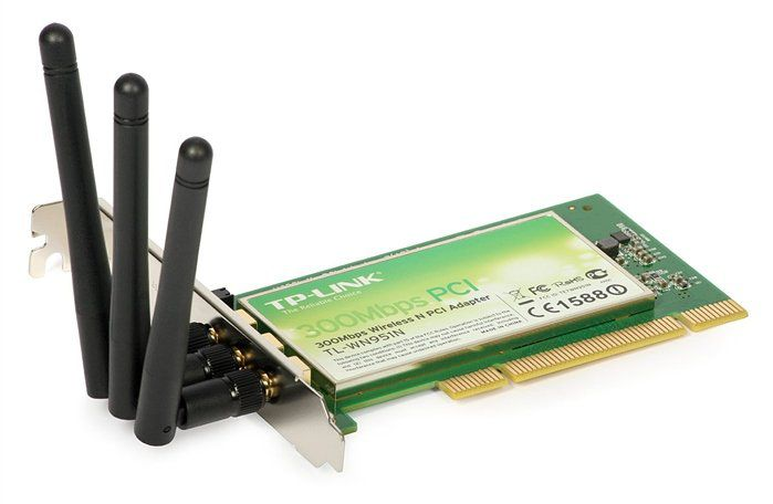Wireless Adaptador Pci Tp-Link Tl-Wn951n 300mbps 3 Antenas
