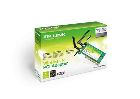 Wireless Adaptador Pci Tp-Link Tp-Wn851nd 300mbps 2 Antenas