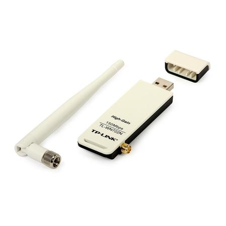 Wireless Adaptador Usb Tp-Link Tl-Wn722n 150mbps (Antena Destac.) *Oem*