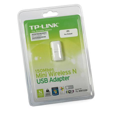 Wireless Adaptador Usb Tp-Link Tl-Wn723n 150mbps
