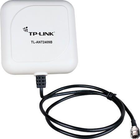 Wireless Antena Tp-Link Outdoor 9dbi Tl-Ant2409b Yagy-Direcional 9dbi Cabo 1m Conector N 2.4ghz