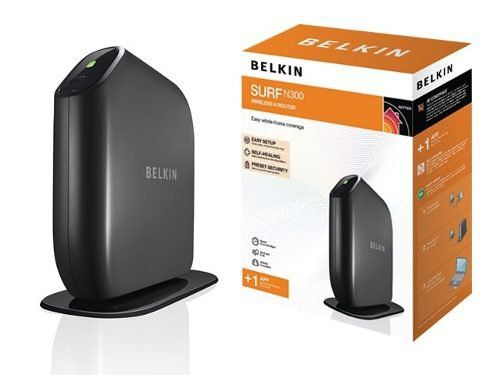Wireless Ap/Router Belkin N300 300mbps 4lan 1wan F7d6301pb *Box*-Brasil 1 Ano