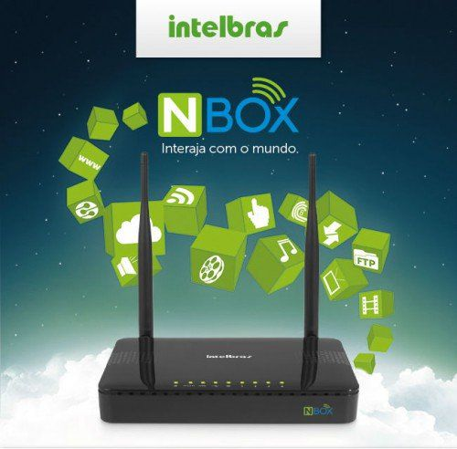 Wireless Ap/Router Intelbras N*Box* 300mbps