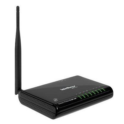 Wireless Ap/Router Intelbras Win240 150mbps 4lan Ant.5dbi 500mw Func. Como Ap/Client/Repetidor
