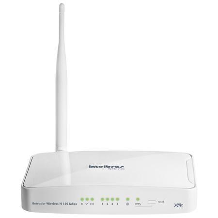Wireless Ap/Router Intelbras Wrn240i 150mbps 4lan Ant.5dbi (Ant. Fixa.).