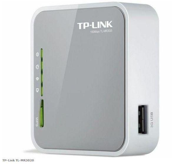 Wireless Router Tp-Link Tl-Mr3020 Portatil 3g
