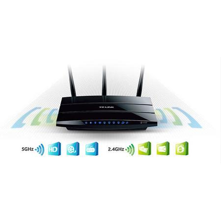 Wireless Router Tp-Link Tl-Wdr4300nd Dual Band N750