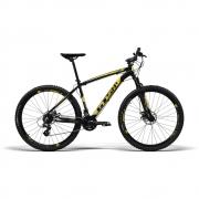 Bicicleta aro 29 gts m1 Freio a Disco Câmbio Shimano Altus 24 Marchas e amortecedor   Ride New Altus