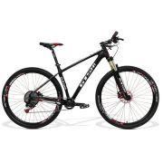 Bicicleta Carbono GTS Aro 29 Freio a Disco Hidráulico Câmbio SRX 1X11 | GTS M1 Carbon 1X11