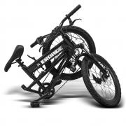 Bicicleta Dobrável aro 20 Kids Eroade 6 marchas shimano Revoshift Freio a disco e suspensão dianteira / Eroade Dobrável