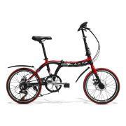 Bicicleta Dobrável GT LXTX  Aro 20 Freio a Disco 7 Marchas | GTS M1 GT LXTX Dobrável