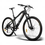 Bicicleta Elétrica aro 29 E-bike GTS M1 Hmountain Motor traseiro 270 Wh 36 v 7.5 Ah Freio a Disco Câmbio Shimano 7 Marchas e Amortecedor | GTS M1 Elétrica Hmountain 270 Wh 7.5Ah