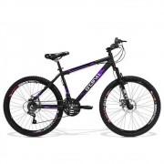 Bicicleta Feminina GTS Aro 26 Freio a Disco Câmbio Traseiro Shimano 21 Marchas e Amortecedor | GTS M1 Walk New
