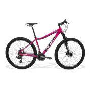 Bicicleta Feminina GTS Aro 29 Freio a Disco Câmbio Traseiro Shimano 24 Marchas e Amortecedor| GTS M1 Ride Feminina