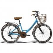 Bicicleta Feminina GTS KS Retrô Aro 26 Câmbio Shimano 7 Marchas Freio V-Brake | GTS M1 KS Retrô IMP