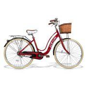 Bicicleta Feminina GTS Retrô City Aro 26 com Cestinha e Para-lama| GTS M1 Retrô City