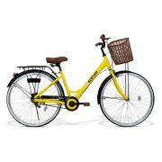 Bicicleta Feminina GTS Retrô Low Beach Aro 26 com Cestinha e Para-lama | GTS M1 Retrô low Beach