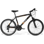 Bicicleta GTS Aro 26 Câmbio Shimano 21 Marchas Freio V-Brake e Amortecedor | GTS M1 Walk 1.0