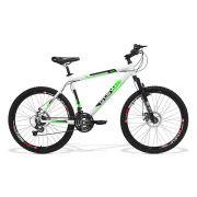 Bicicleta GTS Aro 26 Freio a Disco Câmbio Traseiro Shimano 21 Marchas Amortecedor  | Walk New