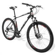 Bicicleta GTS Aro 27.5 Freio a Disco Câmbio Shimano 24 Marchas, Amortecedor +Sinalizadores Brinde | GTS M1 Advanced New