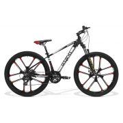 Bicicleta GTS Aro 27.5 Roda de Magnésio integrada Câmbio Shimano 24 Marchas e Amortecedor | GTS M1 Advanced new