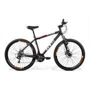 Bicicleta GTS Aro 29 Freio a Disco Câmbio Shimano 24 Marchas e Amortecedor | GTS M1 Stilom 2.0