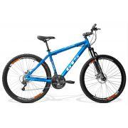 Bicicleta GTS Aro 29 Freio a Disco Câmbio Shimano 24 Marchas e Amortecedor +Brinde = Velocímetro + Squeeze e Suporte | GTS M1 Expert 1.0