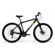Bicicleta GTS Aro 29 Freio a Disco Câmbio Traseiro Shimano 24 Marchas e Amortecedor + Velocímetro Brinde| GTS M1 Walk New