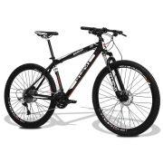 Bicicleta GTS aro 29 freio a disco hidráulico câmbio GTS M1 30 marchas e amortecedor | GTS M1 Advanced New